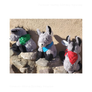 TY004-Forever-Home-Donkey-Rescue-Loveable-Floppy-with-Bandana